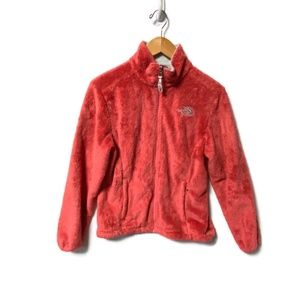 The North Face OSSITO Pink Fuzzy Jacket  Small